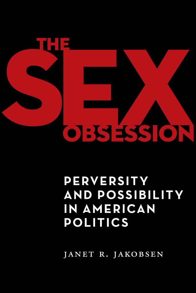"""Front Cover of """"The Sex Obsession"""""""